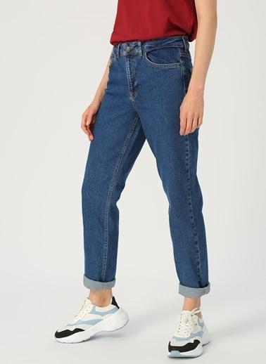 Vero Moda Vero Moda Relaxed Straight Lacivert Kadın Denim Pantolon Lacivert